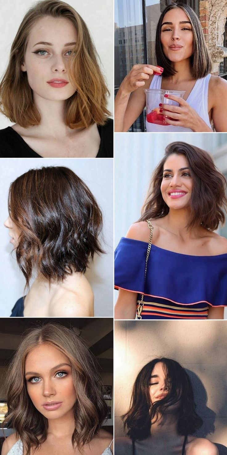 Best 25+ Wavy bob long ideas on Pinterest | Medium hair cuts wavy ...