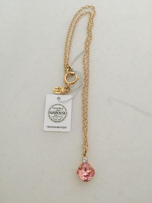Necklace - Single Drop 12mm Square - Gold Tone - Victoria Lynn Jewelry