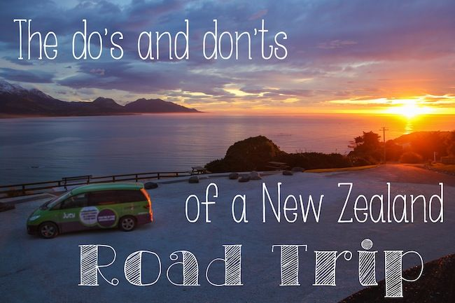 """There are many ways to experience the lush, ridiculous beauty of New Zealand, but I'd argue the best way is on the road..."""