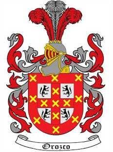 Orozco family crest