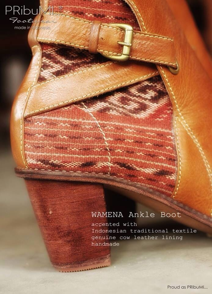 WAMENA Ankle Boot by PRibuMI...®