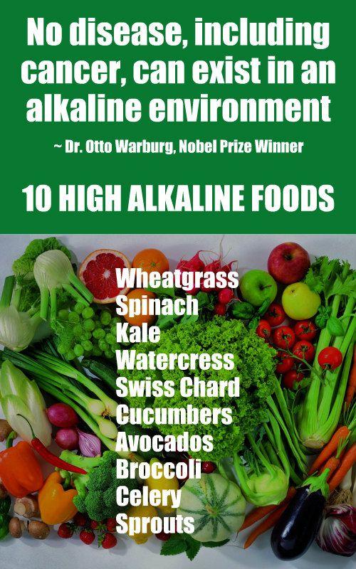 10 Cancer Fighting Alkaline Foods