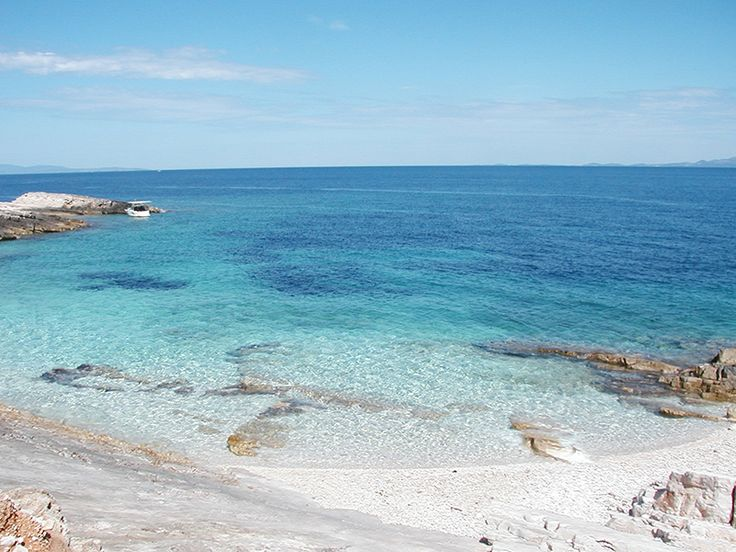 Vela Luka - Beach Bili Boci on the island Proizd
