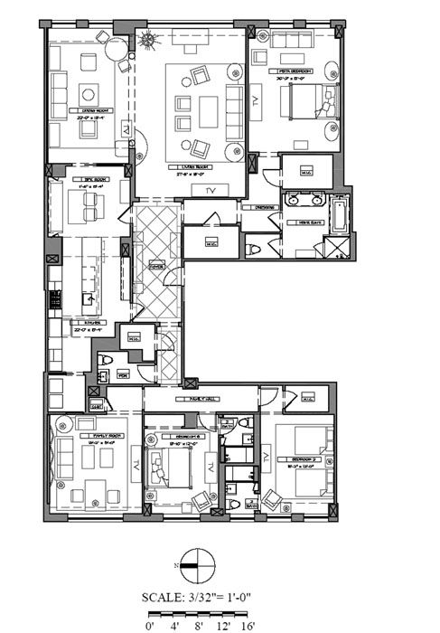 Apartment Building Floor Plans Designs 97 best penthouse images on pinterest | apartment floor plans