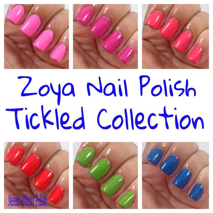 Love the Tickled Collection!!   #nail #nails #nailart #mani #pedi