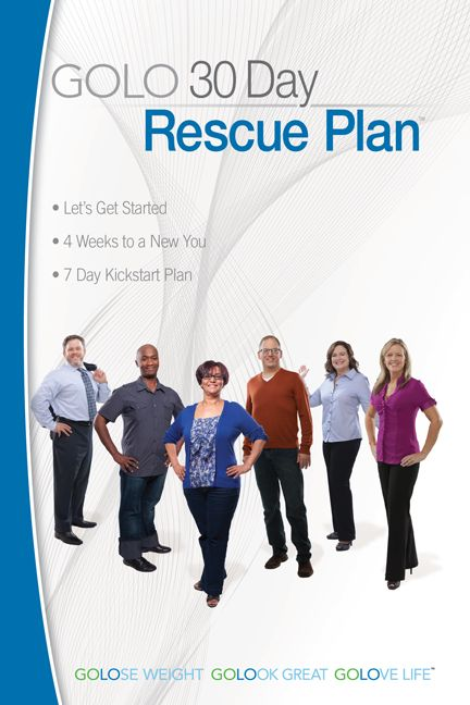 What is in the GOLO Rescue Plan