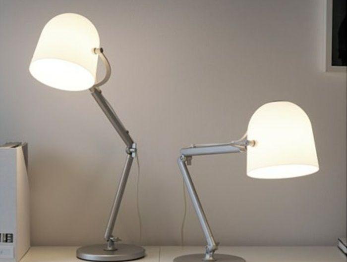 lampe ikea salon abatjour blancs fleurs lampe ikea neuf. Black Bedroom Furniture Sets. Home Design Ideas