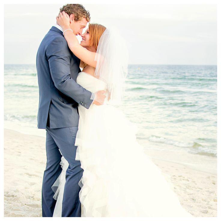 Sugar White Sand And A Blushing Bride