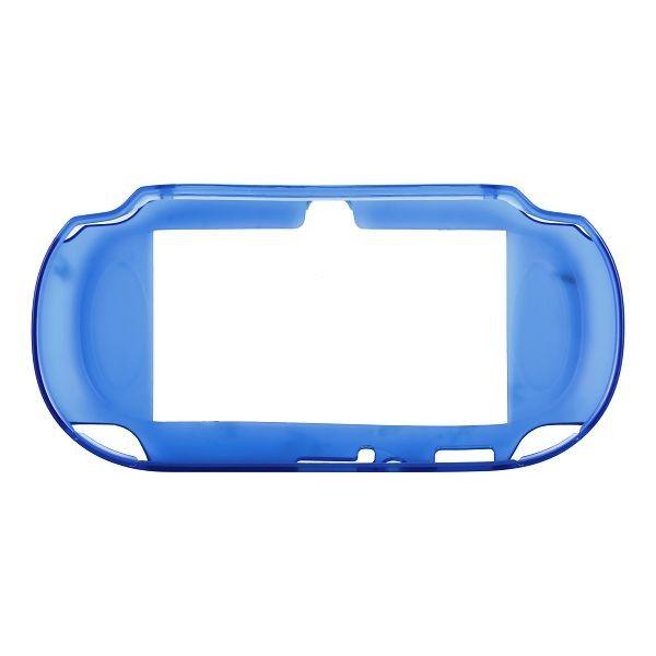 Silicone Shell - Medium Hard (Blå) Sony PlayStation Vita-Skydd