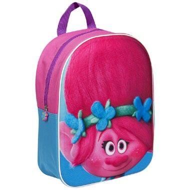 Trolls 3D rugzak - roze  Je steelt ongetwijfeld de show met deze schattige 3D-rugzak van Trolls. Op de voorkant is de vrolijke prinses Poppy afgebeeld.  EUR 12.99  Meer informatie