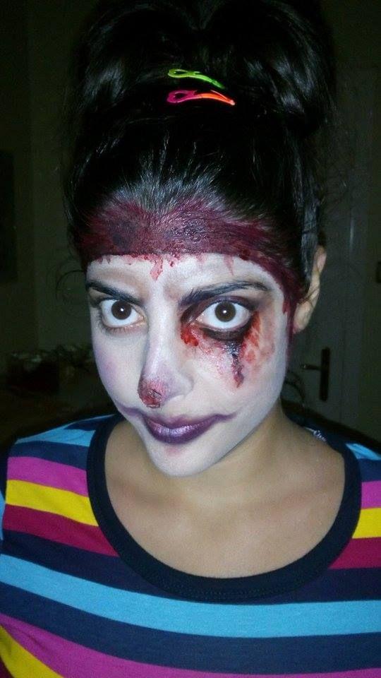 evil scary creepy clown halloween makeup american horror story the twisty clown inspiration
