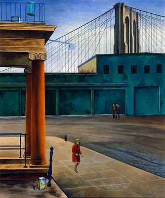 OSVALDO LOUIS GUGLIELMI South Street Stoop (1935)