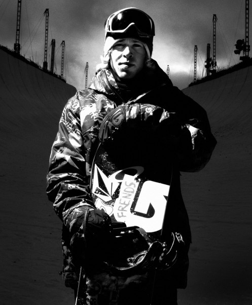 My inspiration,My idol, Kevin Pearce. He got back on his board after a traumatic brain injury. He inspired me to do the same after breaking my back.