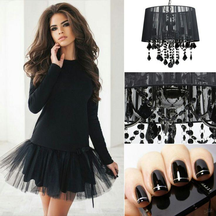 🎩Нестареющая классика – чёрный цвет – всегда в моде! Будь то знаменитое «маленькое чёрное платье» или дизайн ногтей, тёмный тон всегда подчеркнет ваш отменный вкус.👌 Единственное условие – разбавить мрачный оттенок необычными деталями: пусть это будут рюши на платье или оригинальное украшение подходящего цвета.😉👍 Это ярко прослеживается на примере 🌟люстры ФЕДЕРИКА: благородный оттенок абажура из тонких шелковых нитей разбавляют множество миниатюрных подвесов того же цвета. Благодаря им…