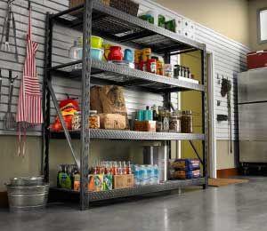Large Rack Shelves Garage Shelving Storage Unit Commercial Industrial Spring New