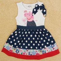 Vestido sin mangas Peppa Pig, Tallas 18 meses a 6 años, Valor 11.990