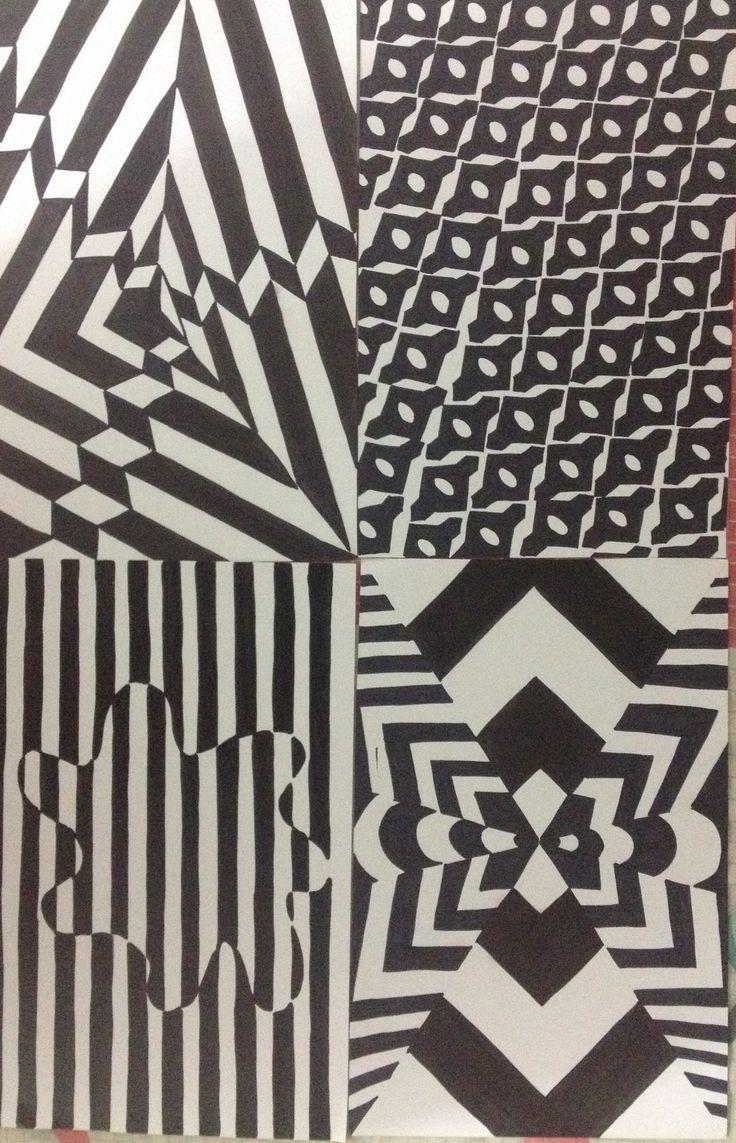Ilusión óptica Diseño básico By Erika Martínez