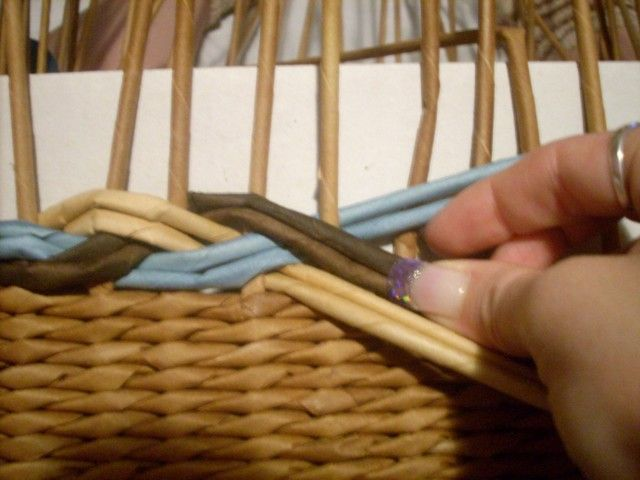 Moje pletení z papíru - Fotoalbum - NÁVOD - VZORY PLETENÍ - NÁVOD - na vzor…