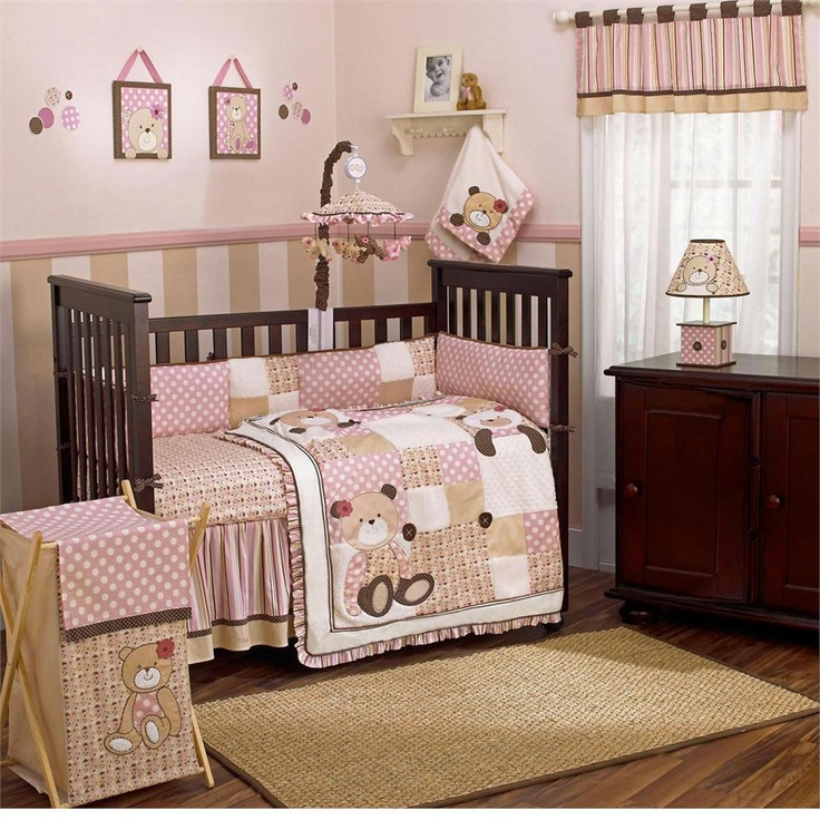 Ideal Teddy Bear Nursery Bedding. Awesome Neutral Gender Baby Bedding  XO95