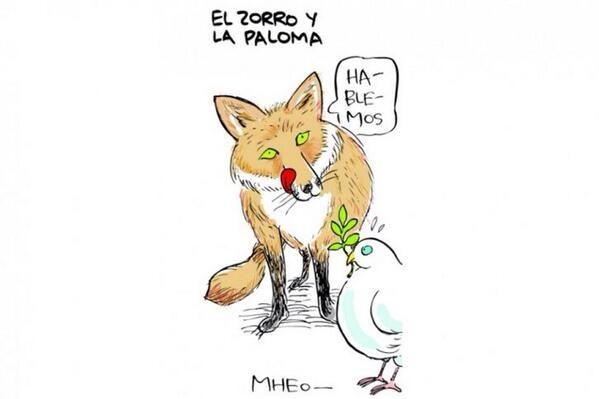 La fábula del Zorro y la Paloma ....