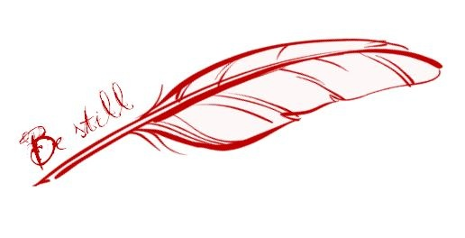 be still * cardinal feather tattoo