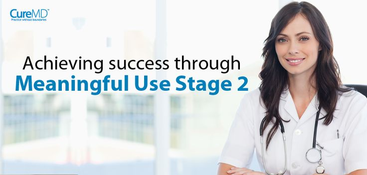 If you are looking to succeed at Meaningful Use Stage 2, you need to think beyond it. This means that you need to seek processes and technology that helps you exceed the current requirements. - See more at: http://blog.curemd.com/achieving-success-through-meaningful-use-stage-2/  #MeaningfulUseStage2   #PhysicianIncentives   #Physicians2014