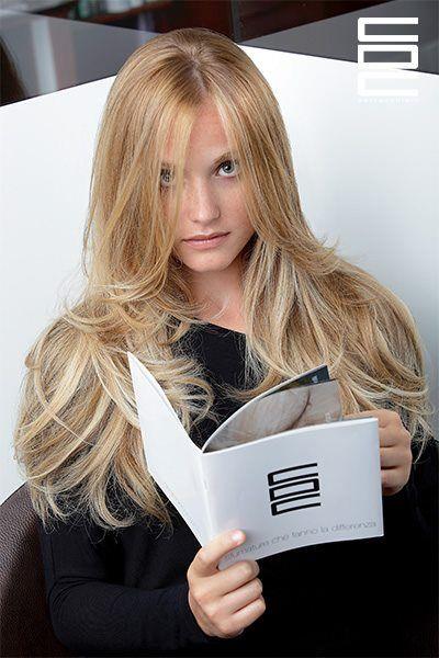 Hair Model Conseil. Hair color Degradè by Centro Degradè Conseil Italian fashion and beauty #hair #color #hairstyle #style #moda #fashion #degrade