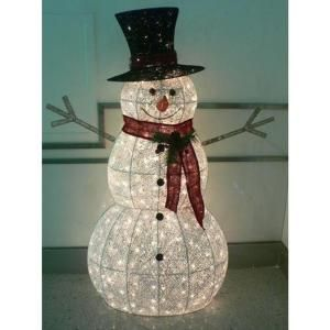 Home Accents Holiday 60 In 300 Light Snowman Ty204 1318