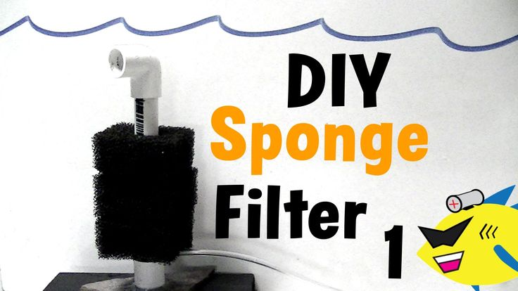 DIY Sponge Filter: Cheap Aquarium Filter Build - Best video tutorial I've come across. I can actually understand what's going on, why we're doing what we're doing and exactly what we need to make it work.
