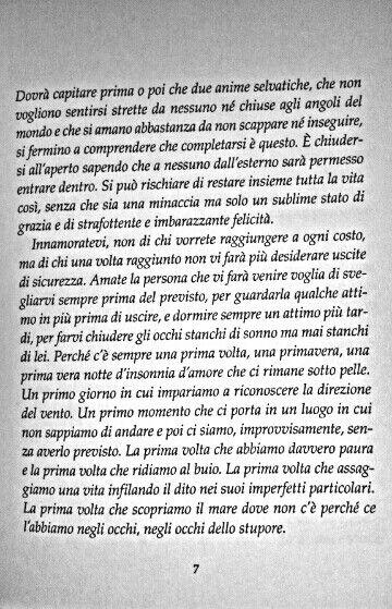 Ed questo quello che desidero... La libertà unita all'Amore... La sicurezza di un abbraccio sincero, il non doversi guardare le spalle... Perchè la persona che ti sta accanto desidera il tuo bene tanto quanto te...  Il quadro mai dipinto - Massimo Bisotti ♡