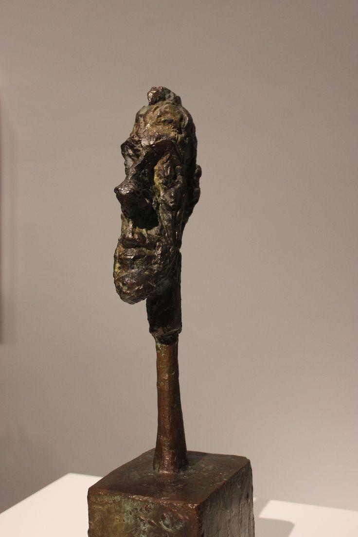 Day 4: Reina Sofia gallery. Alberto Giacometti 'Head of a man on a rod'