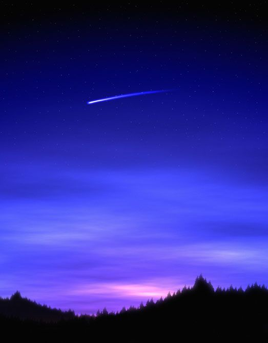 Shooting Star -  I always thought that some special went to heaven when you saw one, such a good thought