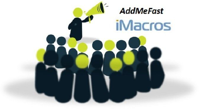 Macro scripts for #AddMeFast. Perfectly working scripts to get Free points on AddMeFast on Autopilot!