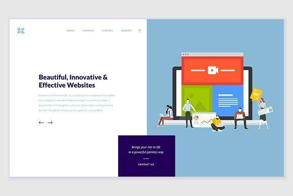 Creative Website Template Design Website Template Design Website Template Template Design