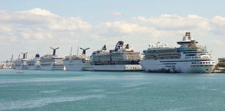 南フロリダ観光ブログ クチコミ情報  カリブ海クルーズの拠点 マイアミ港