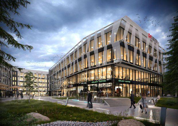 Park biurowy Tensor w Gdyni