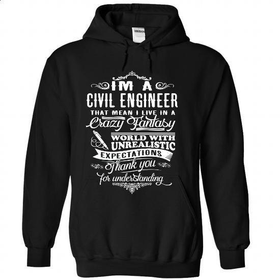 Civil Engineer - #style #best sweatshirt. ORDER HERE => https://www.sunfrog.com/LifeStyle/Civil-Engineer-Black-68169392-Hoodie.html?60505
