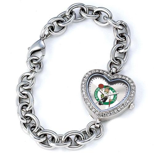 Boston Celtics Ladies Heart Watch