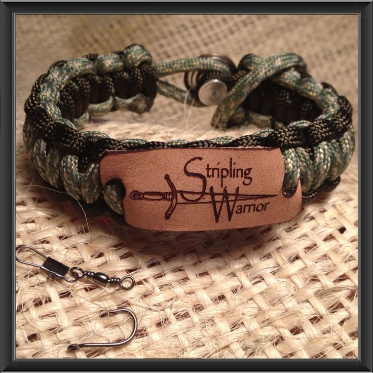 Truth Treasures Stripling Warrior Survival Band turns into fishing pole!