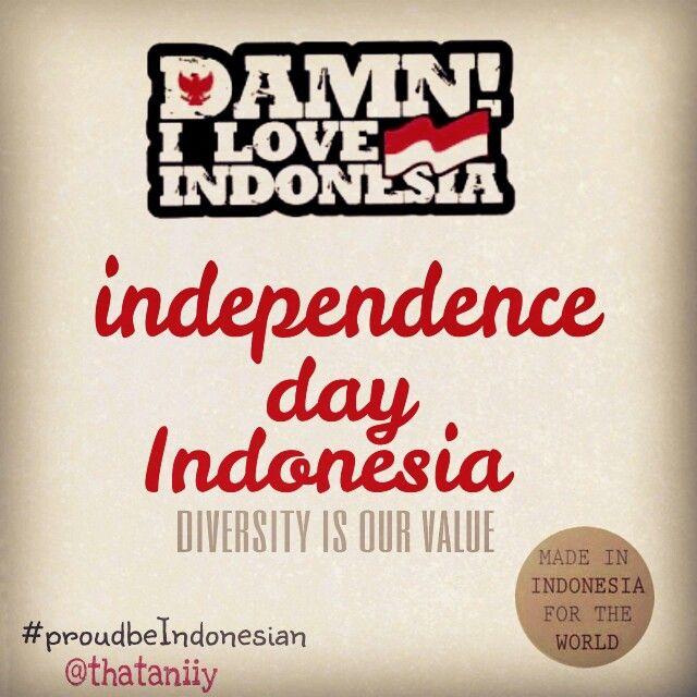 #proudbeIndonesian