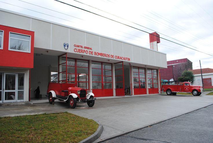 Cuartel General, Cuerpo de Bomberos de Curacautin, Chile