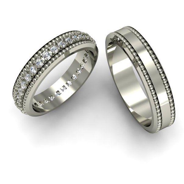 серебро обручальные кольца - Поиск в Google