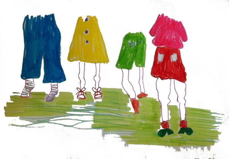 Zomer benen - Ester Van Hoorde