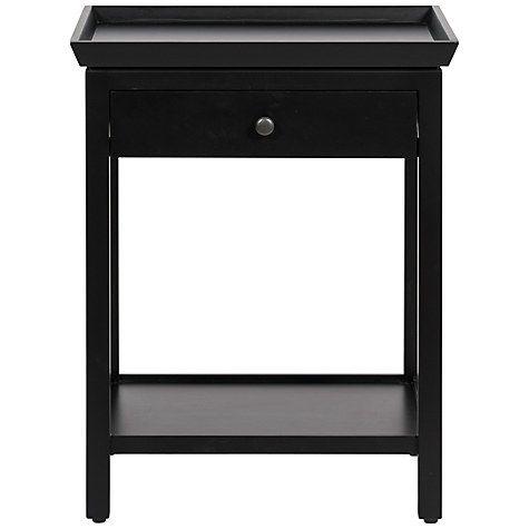 Buy Neptune Aldwych Tall Side Table, Warm Black £375