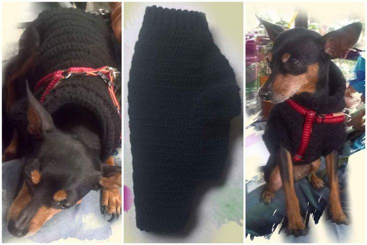Warm crochet jumper for little pinchers!  #handmade #crochet #jumper #pinchers
