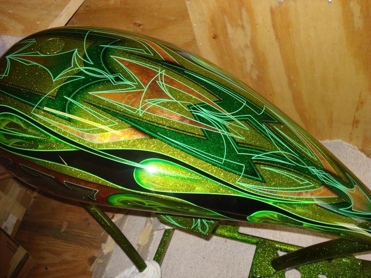 gold leaf custom paint jobs | ... Custom Painting Inc ...