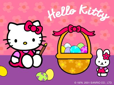 Hello Kitty Happy Easter Pictures | Hello Kitty Forever