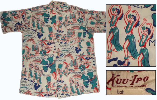 vintage hula girl hawaiian shirt -- Definitely coming home with one of these for a classic souvenir thanks to #SavingsareintheKitchen