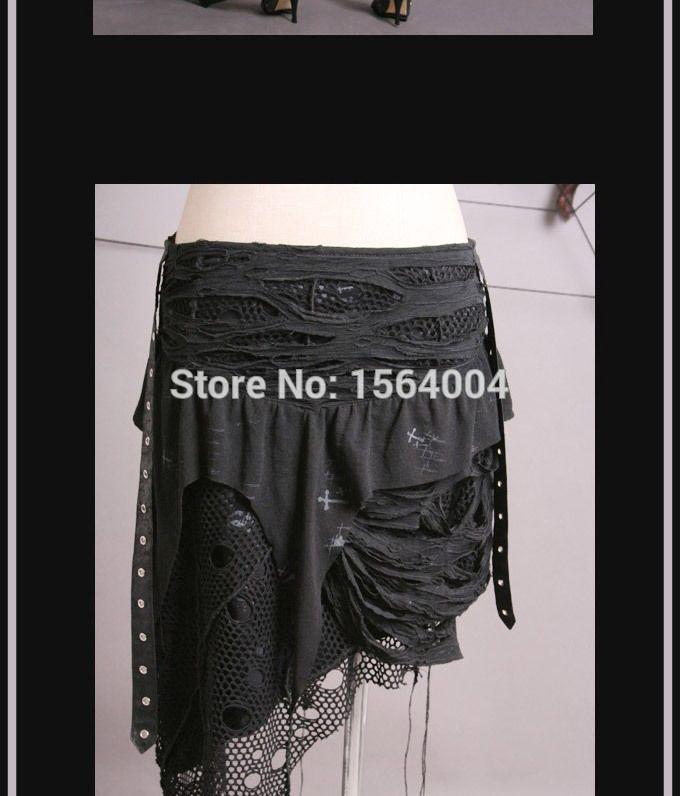 Punk Schwarz Gothic Damen Rock Rockabilly mode tattered netto Unten Q098 S XXL in einzelteil umfassen: rockMaterial: BAUMWOLLE 95% SPANDEX 5%verfügbare Größe:, S, M, L, XL, XXLPunk Rave ist asien-größe, aus Röcke auf AliExpress.com | Alibaba Group