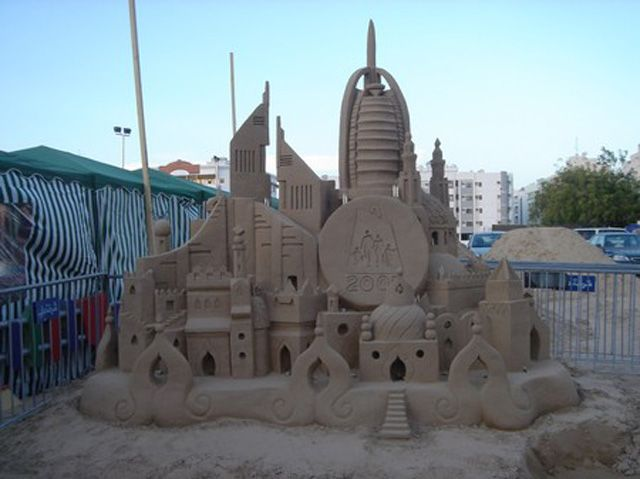 Another amazing work of art by Jenny the sand castle girl.